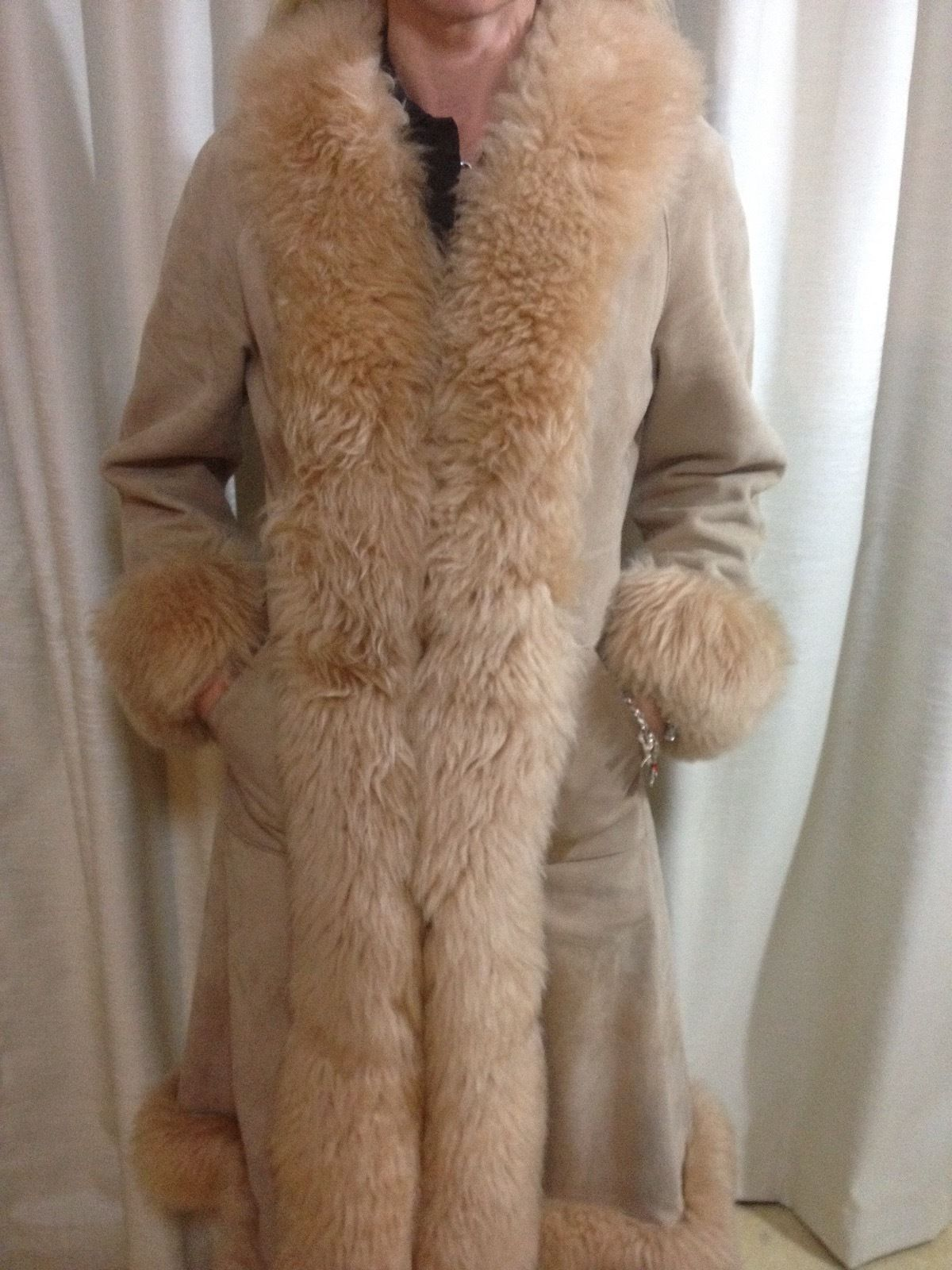 Womens Vintage Sheepskin FUR Coat | eBay | sheepskin | Pinterest ...