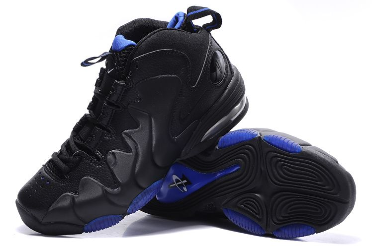 the best attitude 5f860 6b691 Penny Hardaway Shoes   Nike Air Penny III - Penny Hardaway Shoes Black Blue  One of my fav pair of shoes when I was in High School.