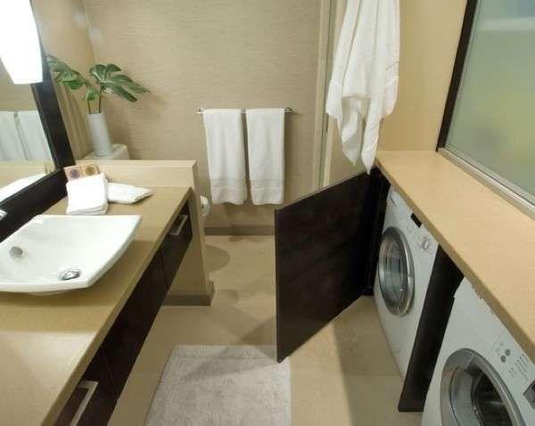 Bagno Con Zona Lavanderia : Bagno piccolo con lavatrice casa ideale bagno piccolo bagno e
