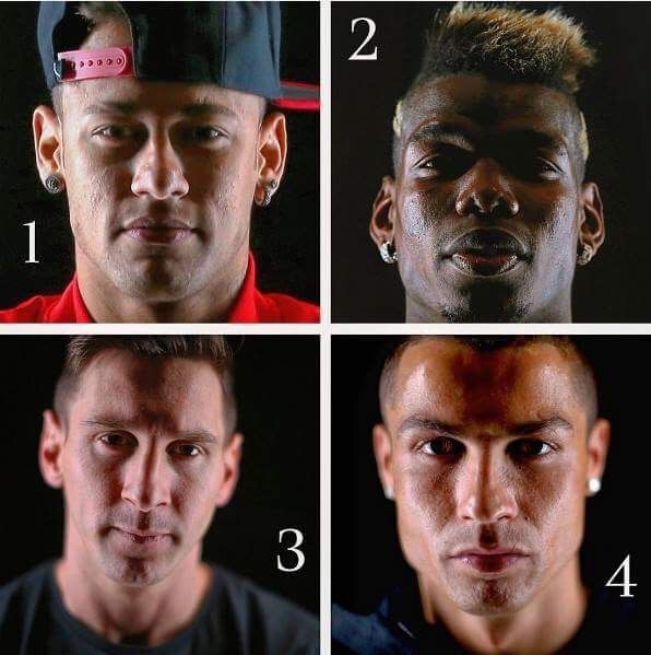 Who will have the best 2017?  1. Neymar Jr. 2. Paul Labile Pogba  3. Leo Messi 4. Cristiano Ronaldo  Comment below... Let's come to MQQ88 to get some fun game >goo.gl/UR6MSy