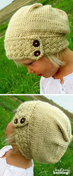 Little Miss Ellas Hat Knitted Hat Patterns Slouch Hats And Knit Hats
