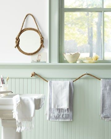 DIY Bathroom Towel Storage 7 Creative Ideas Toallero, Cuerdas y Baños