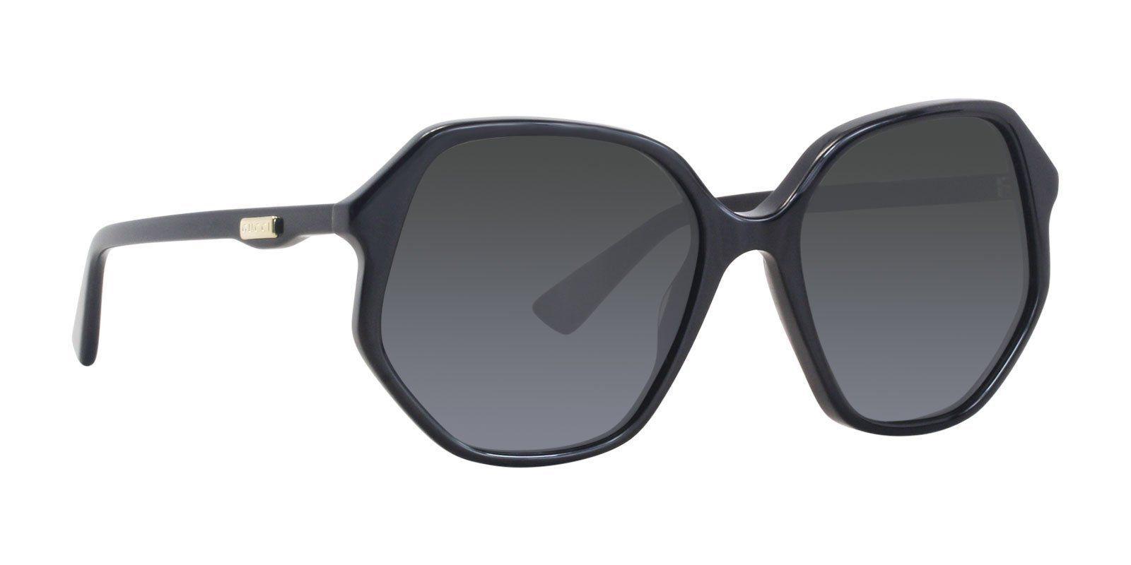 6d1abe700c2 Gucci - GG0258S 001-sunglasses-Designer Eyes