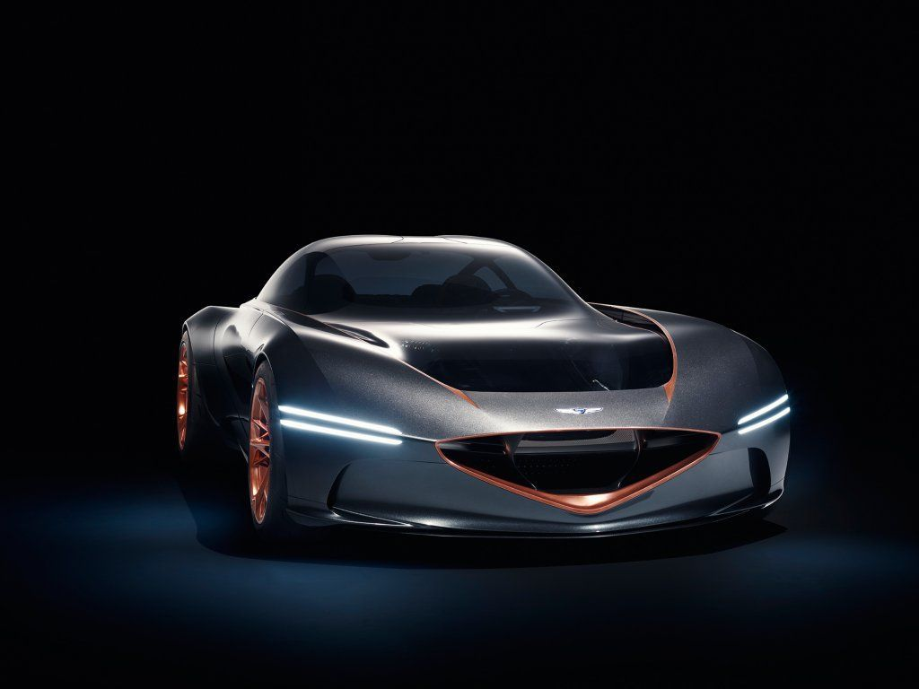 2020 Genesis essentia concept, portrait, car, front wallpaper