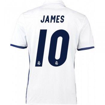 Real Madrid 16-17 James Rodriguez 10 Hemmatröja Kortärmad  #Billiga Fotbollströjor