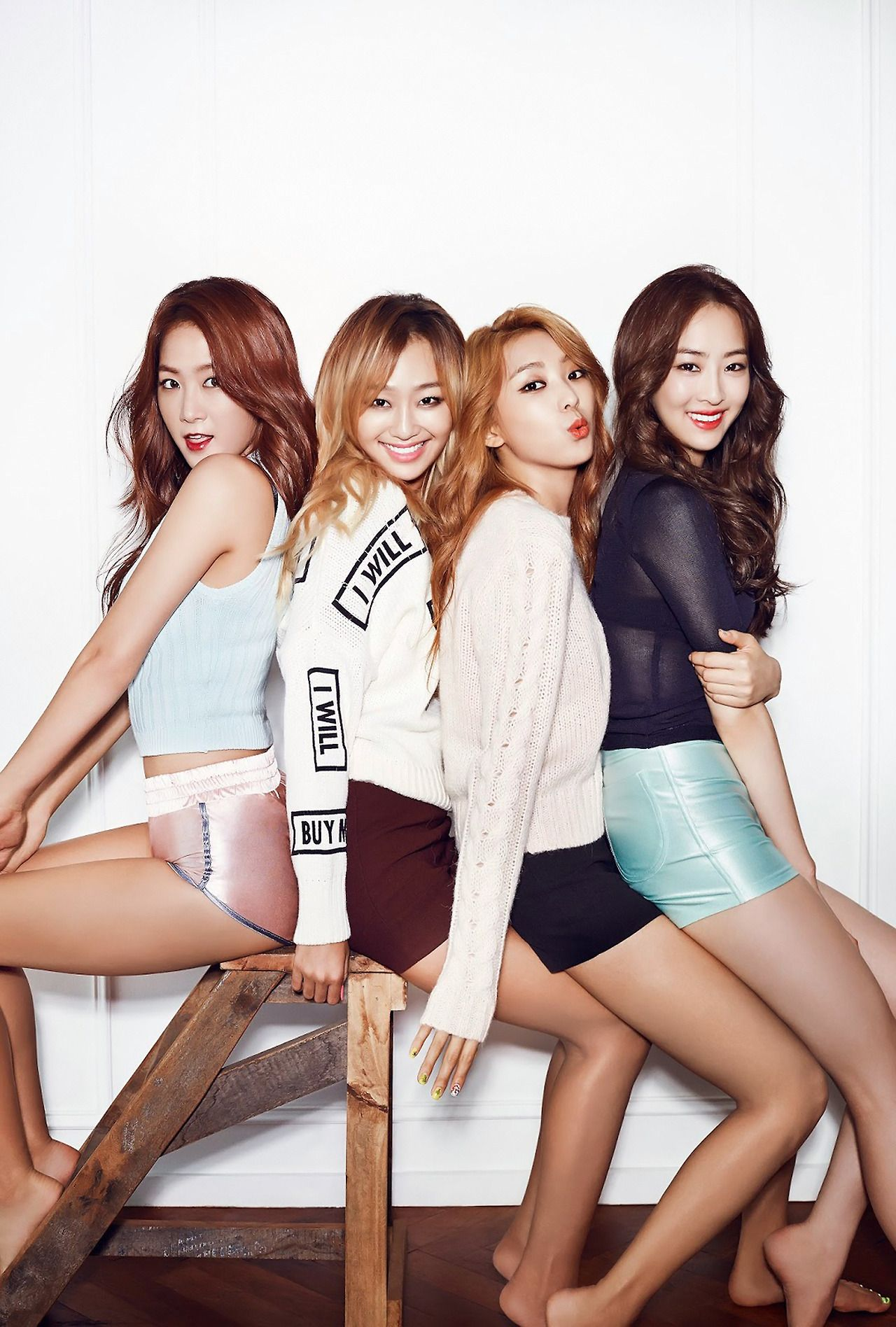 HQ] SISTAR for CéCi Korea 1350x2000 "