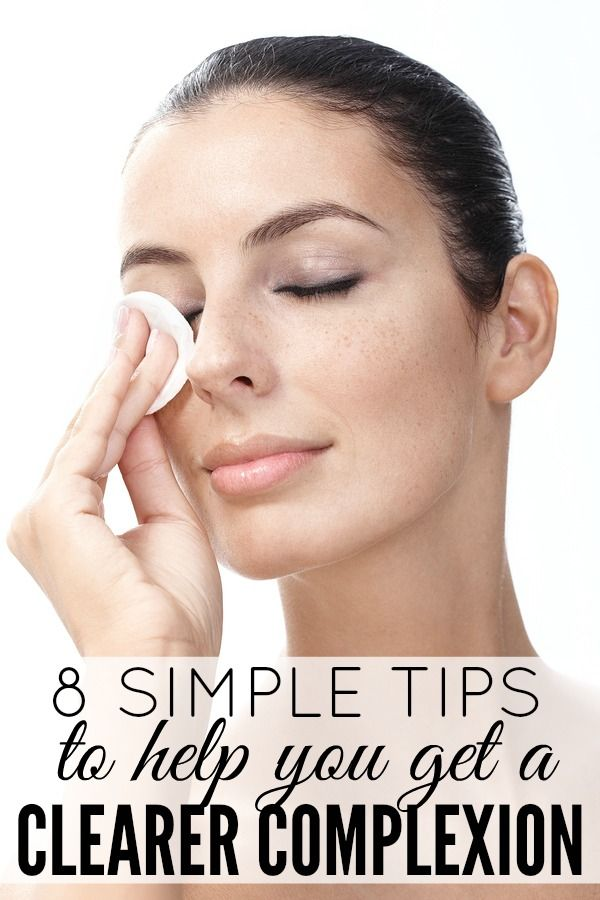 8 tips for a clearer complexion our best tips pinterest beauty tipps beauty und gesicht. Black Bedroom Furniture Sets. Home Design Ideas