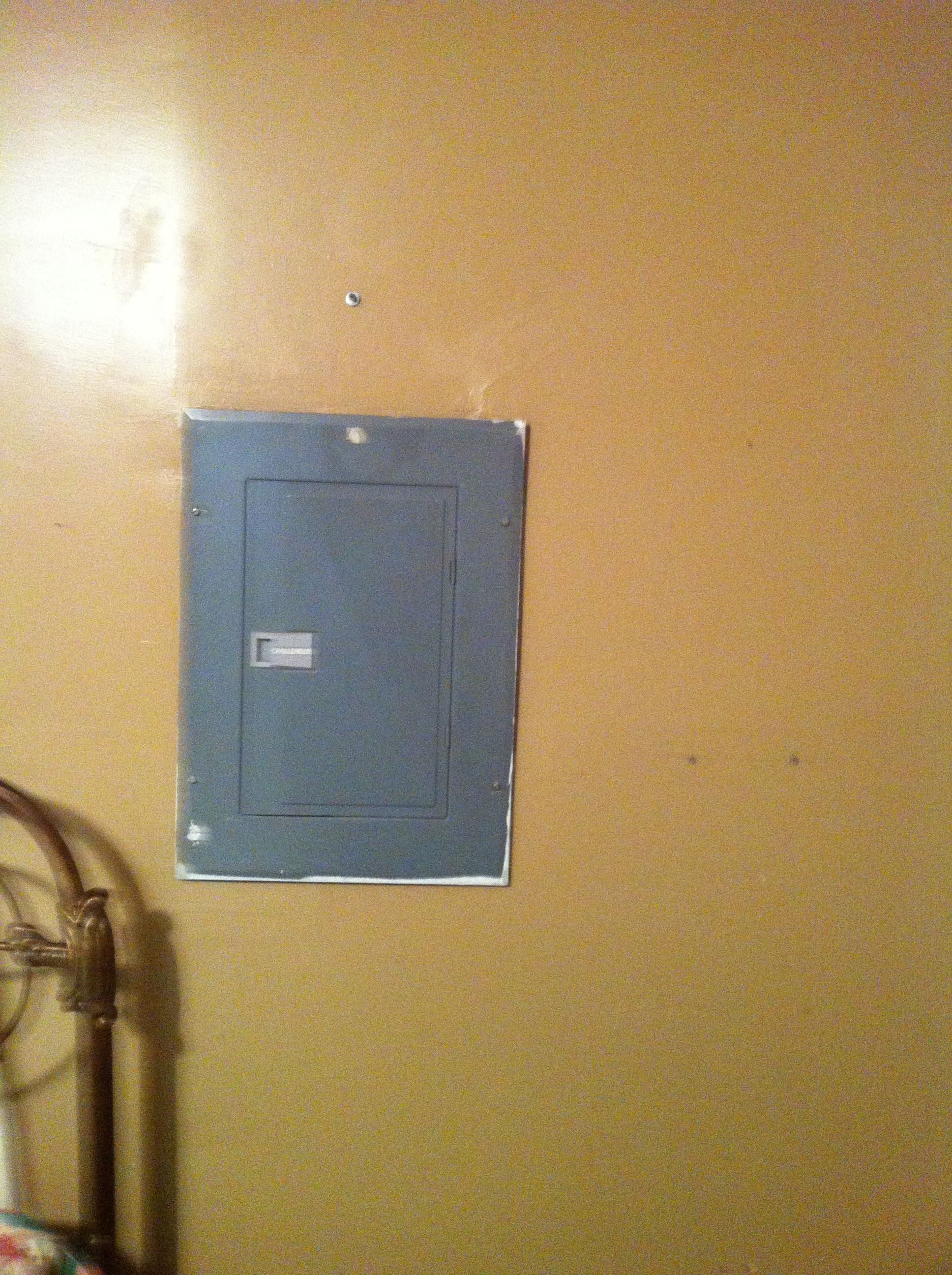 Ugly Fuse Box Cover Isnt Even Flush With The Wall Jens Old