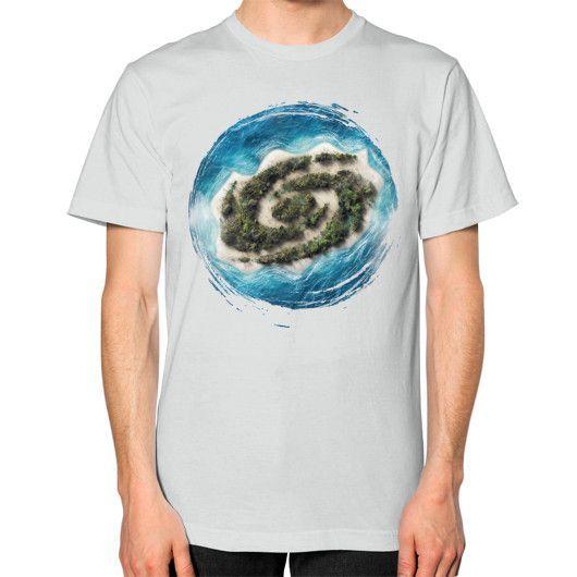 PARADISE Unisex T-Shirt (on man)
