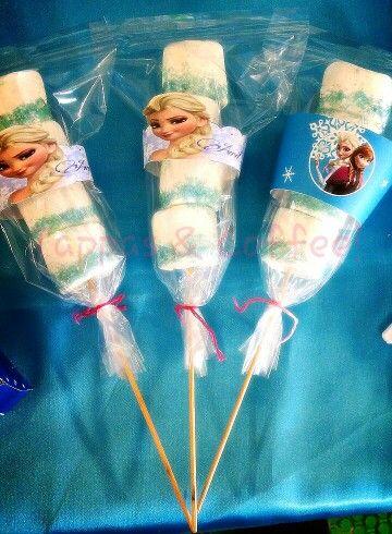 Wrappers frozen. Para bombón, cupcakes,. Facebook DetallesCraftyS.