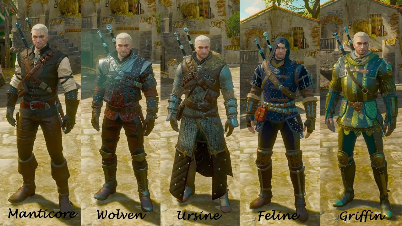 The Witcher Griffin School Gear Google Search The Witcher Wild Hunt The Witcher The Witcher 3