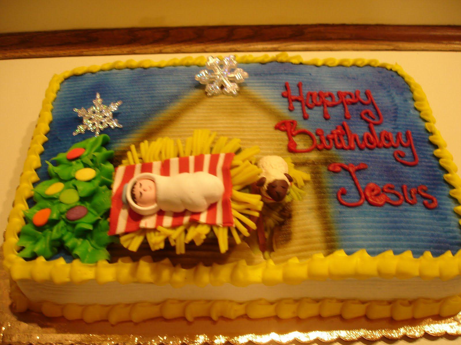 Happy Birthday Jesus Cake I Love This Design
