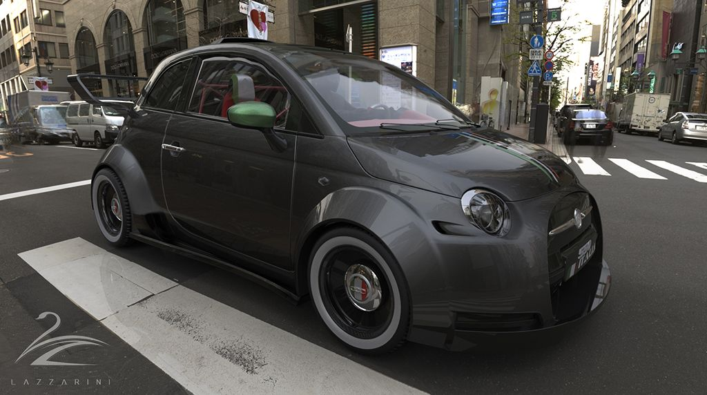 550 Italia (Fonte Lazzarinidesign) | Street | Pinterest | Fiat and