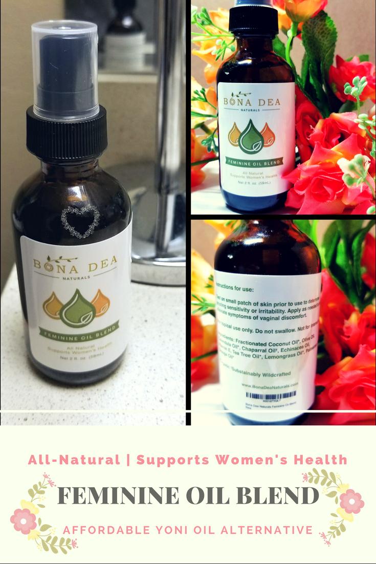 Essential oils for feminine health