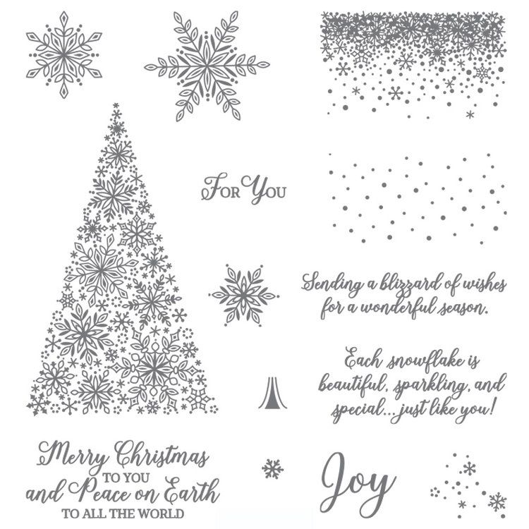 Snowflake Showcase 1 - Stampin\u0027 Up! Artisan Blog Hop 2018
