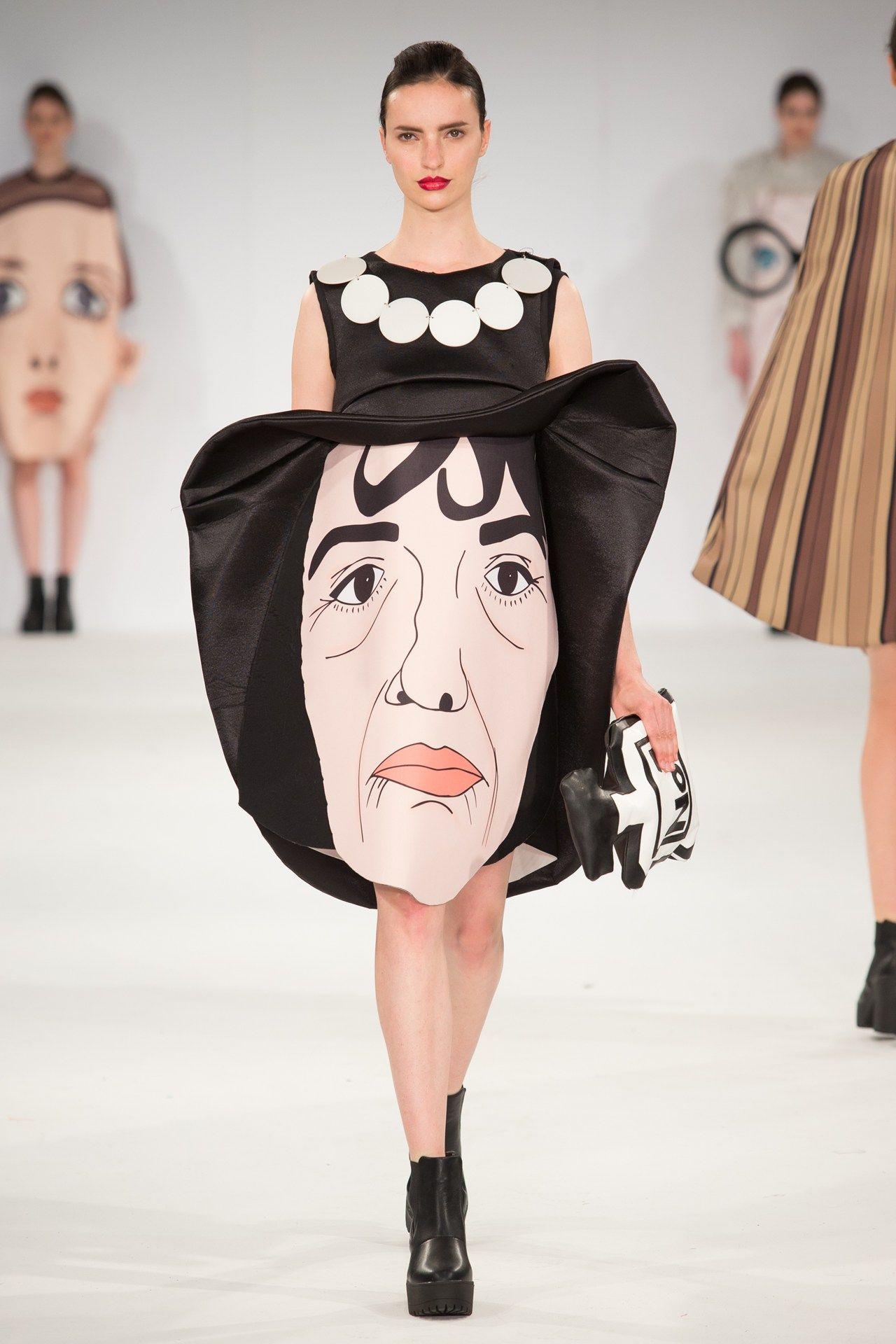 University Of East London Autumn Winter 2015 Ready To Wear Weird Fashion Fashion Creative Fashion