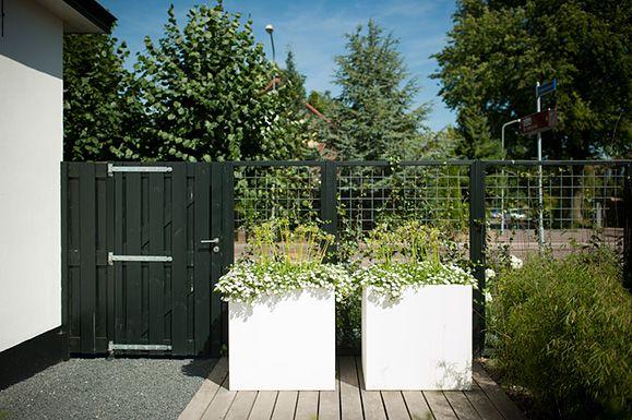 Buytengewoon moderne tuinen gezellige achtertuin met