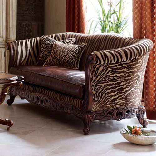 Take A Walk On The Wild Side Cool Zebra Couch