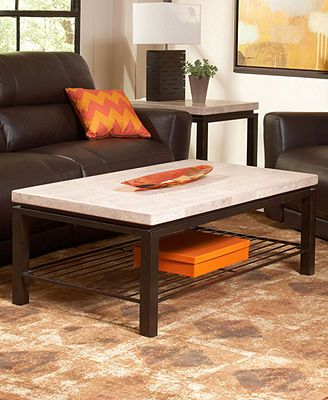 Tempo Travertine Table Collection Rectangular Living Room Redo