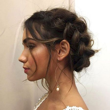 Short updos for prom – hairstyles 2019