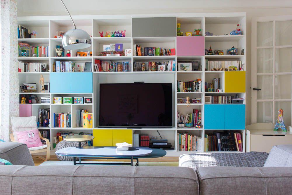 meuble télé Idées pour la maison Pinterest Salons, Lofts and