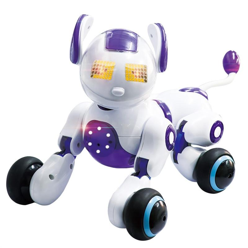 Smart Robot Dog Voice Controlled Induction Robot Educational