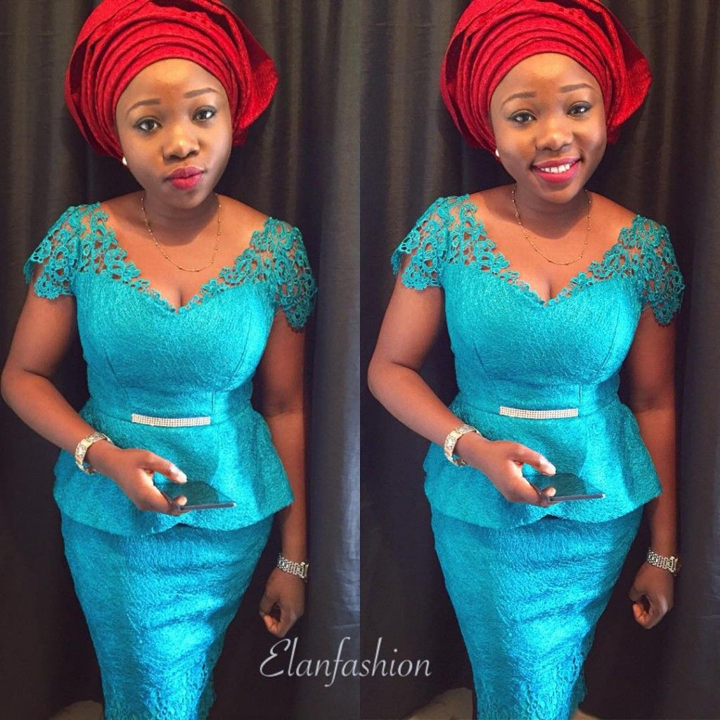 Double Delight! Valentine\'s Day Edition of Aso-Ebi + Ankara Styles ...