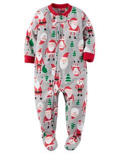 1-Piece Fleece Christmas PJs. 1-Piece Fleece Christmas PJs Baby Boy Pajamas 5ea17c757
