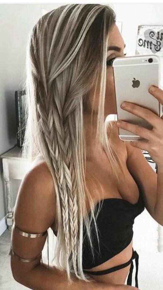 (notitle) - Frisuren - #Frisuren #notitle | Cool hairstyles, Hair styles, Long hair styles