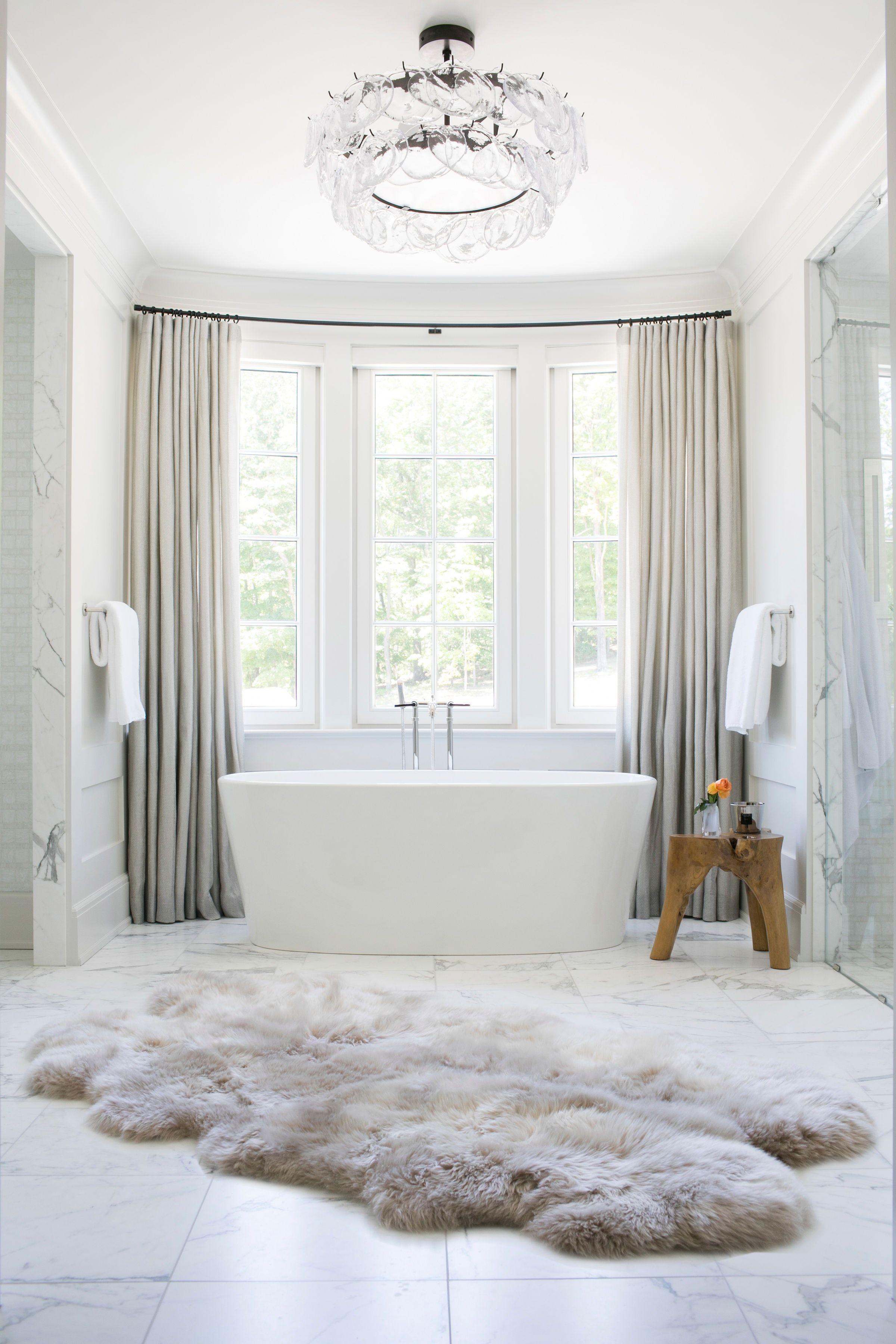 Terri Ricci Interiors Luxurious Layered Modern White Master