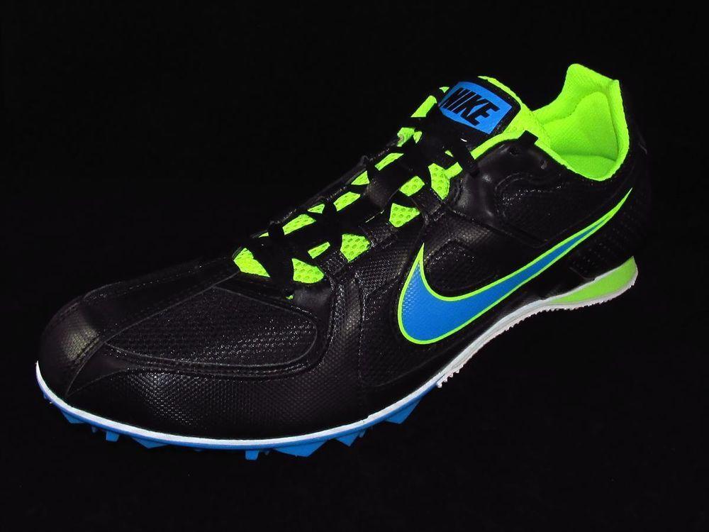 info for 681b0 37949 Nike Zoom Rival MD 6 Track Running Spikes Mens Sizes 11.5, 12, 12.5   13  Black  Nike  MDMiddleDistanceRunningTrackSpikes