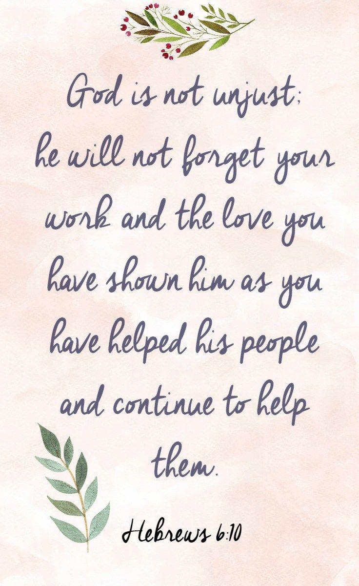 Bible Verse Printables: Encouraging Scriptures For You