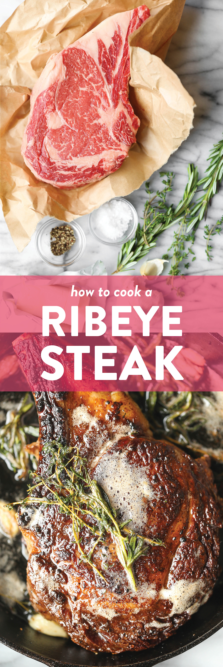 How to Cook a Ribeye Steak | Recipe in 2020 (With images ...