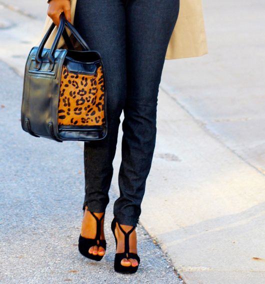 Leopard bags are key for transitioning from Summer to Fall. Snag one now!