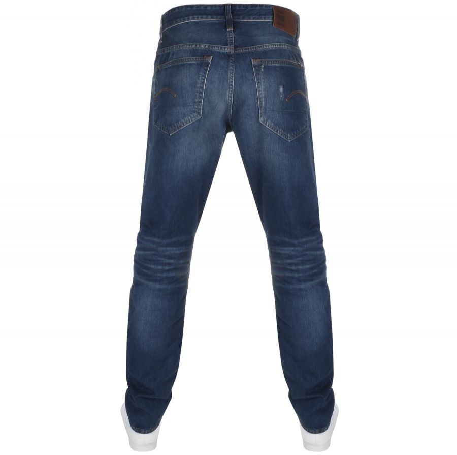 G Star Raw 3301 Straight Tapered Jeans Blue | G star raw