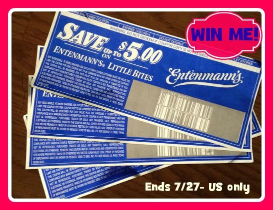 Win 4 Free Product Coupons For Entenmann S 20 Arv Us Only Ends