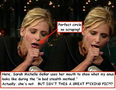 gellars Sarah ass pictures michelle