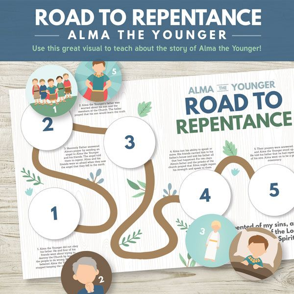 family home evening ideas for young adults. road to repentance: alma the younger - awesome activity for primary or family home evening \ ideas young adults