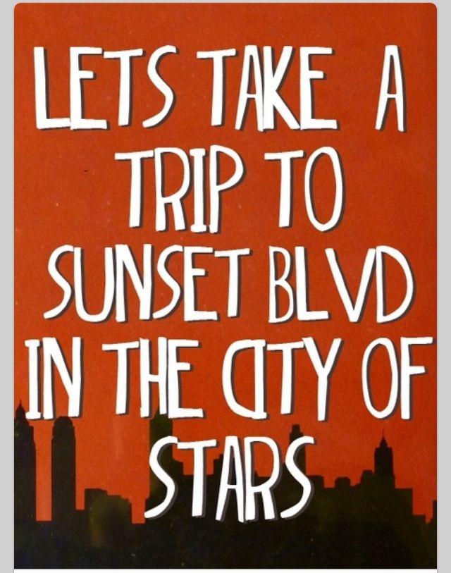 Sunset Boulevard By Emblem3 Sunset Boulevard Pinterest