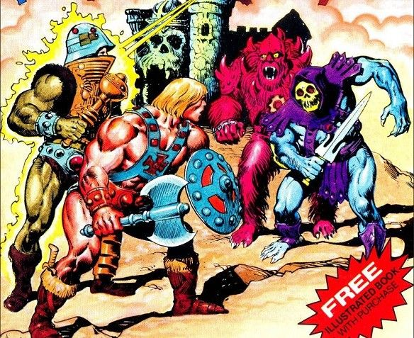 'HE-MAN' TOY COMICS WRITER CLAIMS STAKE IN 'MASTERS OF THE UNIVERSE' COPYRIGHT