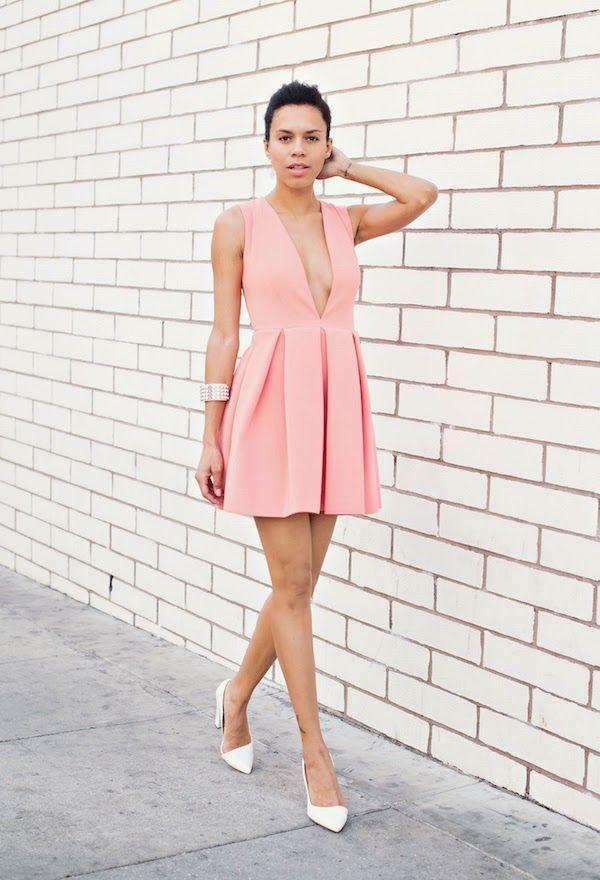 Estupendos vestidos casuales color rosa | Moda 2016 | Moda ...