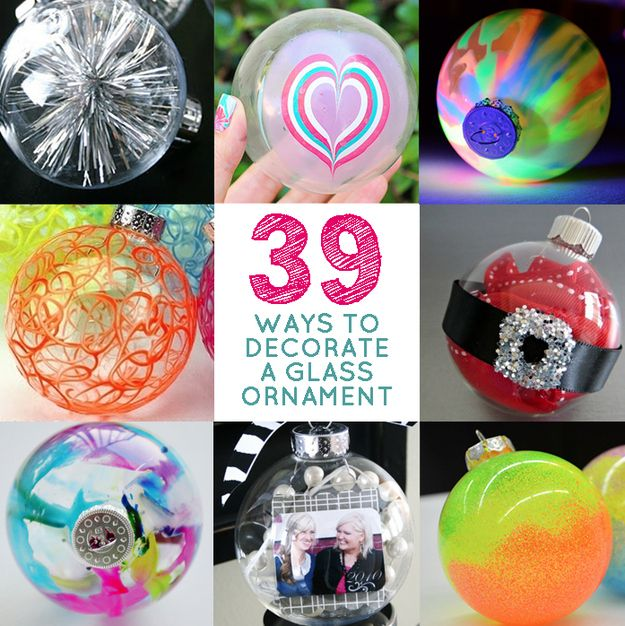 39 ways to decorate a glass ornament httpwwwbuzzfeedcomswelldesigner39 ways to decorate a glass ornament 22zb