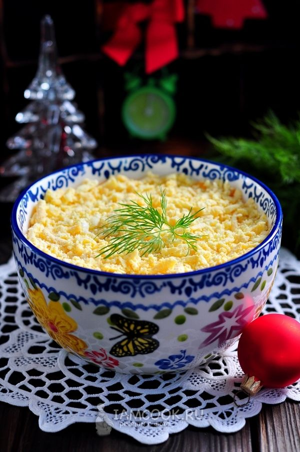 Салат «Мимоза» с картошкой | Рецепт | Идеи для блюд ...