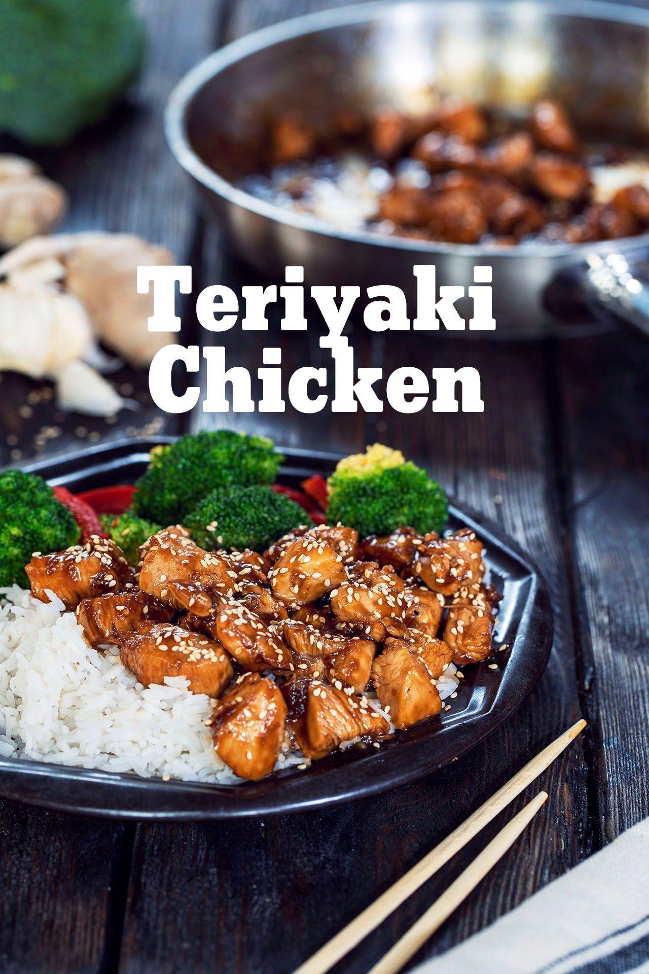 10 Minute Teriyaki Chicken Recipes212 Recipe In 2021 Chicken Teriyaki Recipe Recipes Teriyaki Chicken