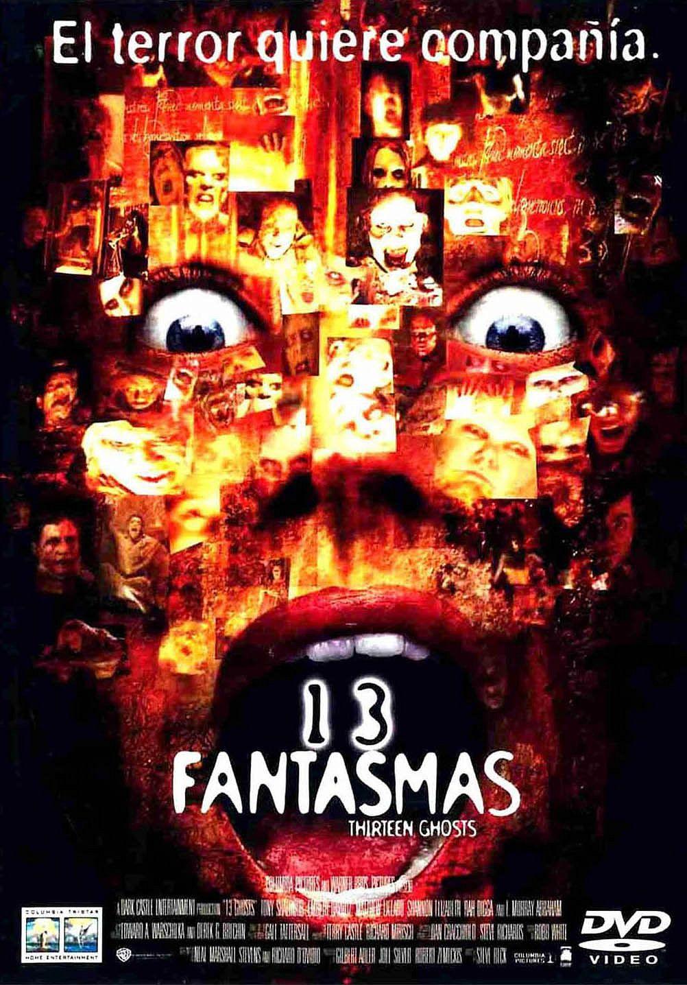 13 Fantasmas Ghost Movies Best Horror Movies Horror Movie Posters