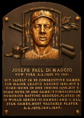Photo of Joe DiMaggio