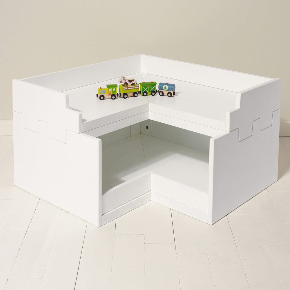 Beautiful Northcote Corner Toy Box