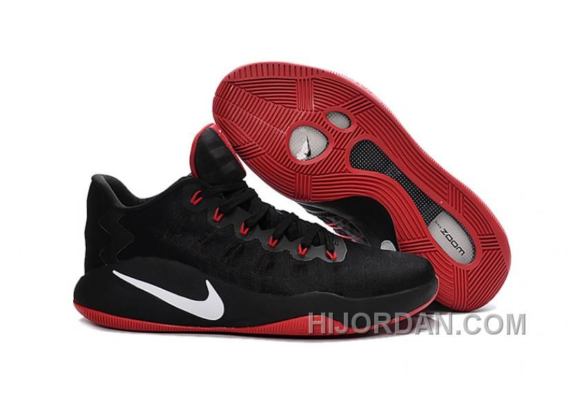 promo code 346a2 51119 Cheap Hyperdunk 2016 Low Black Gym Red Varsity Red - Click Image to Close