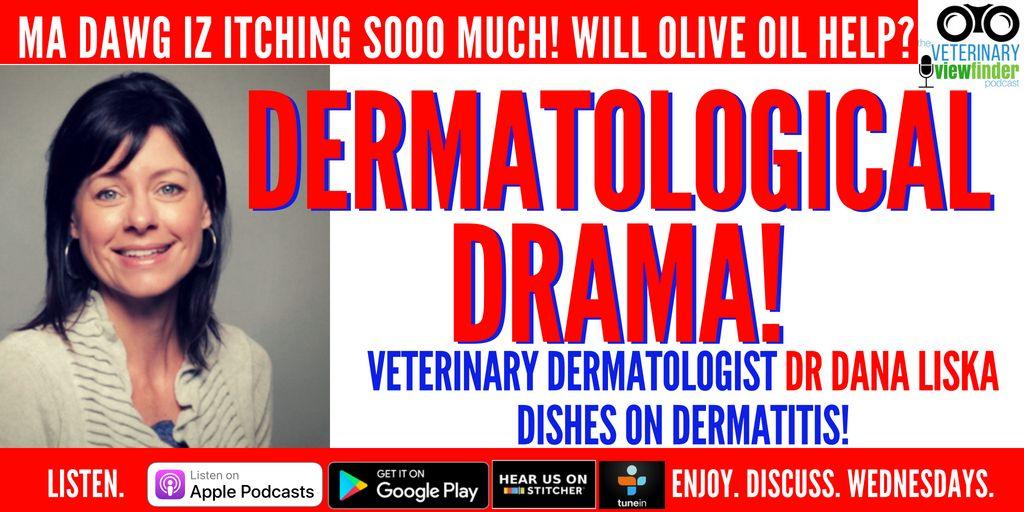 Dermatological Drama with Veterinary Dermatologist Dr Dana