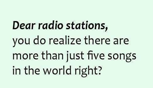 Radio has too many repeats